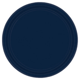 "20 Count | Navy 10"" Paper Plate"