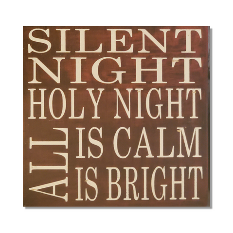 Decorative Wood Tile | Silent Night