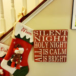 Wall Plaque | Silent Night