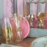 12 Count | Gold 'Cheers' Drink Stirrers