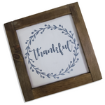 "Farmhouse Sign | 12"" Square 