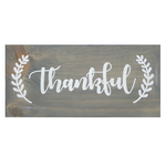 Decorative Wood Plaque | Thankful