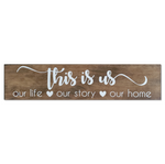 'This is Us' Wall Sign