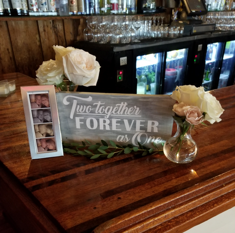 Decorative Wood Plaque | Two Together Forever