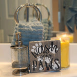Decorative Wood Tile | Wash Your Paws