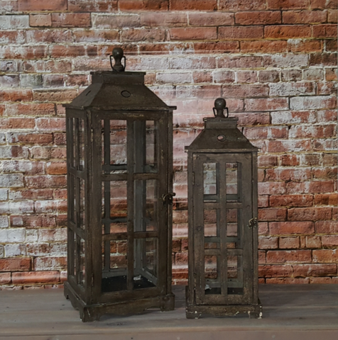 Weathered Wooden Lantern