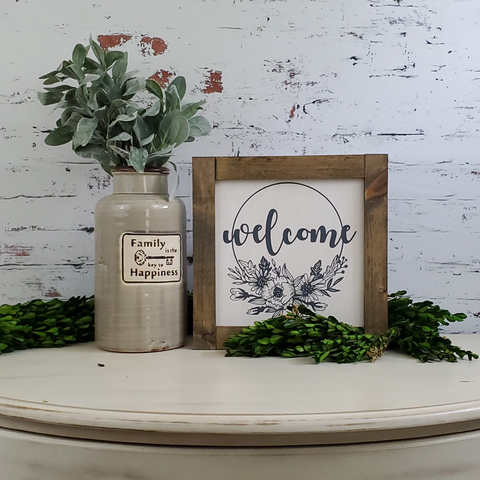 "Farmhouse Signs | 12"" Square 