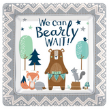 "8 Count | 7"" Bearly Wait Paper Plates"