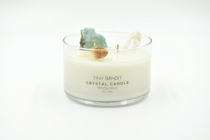 Crystal Candle - Moon Milk