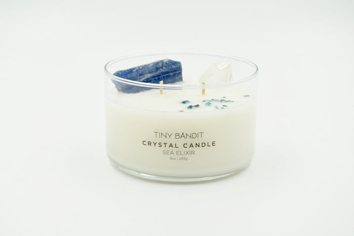 Crystal Candle - Sea Elixir