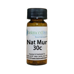 Nat Mur 30C Homeopathic