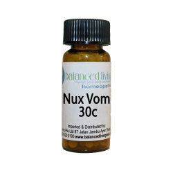 Nux Vomica 30C Homeopathic