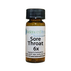 Sore Throat Homeopathic Combo