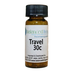 Travel Homeopathic Combo