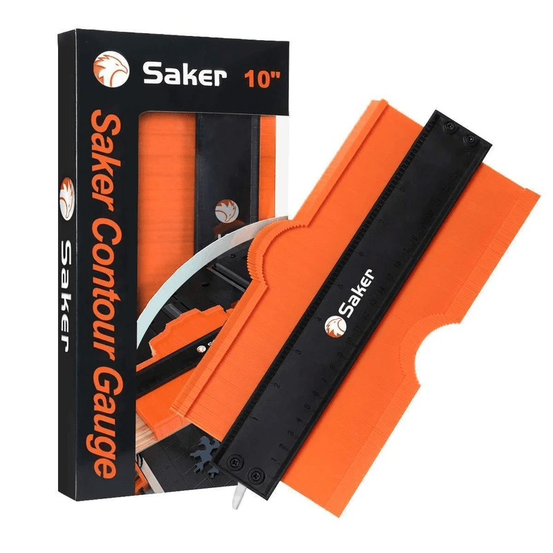 Saker® Contour Gauge Profile Tool - Upgraded Version