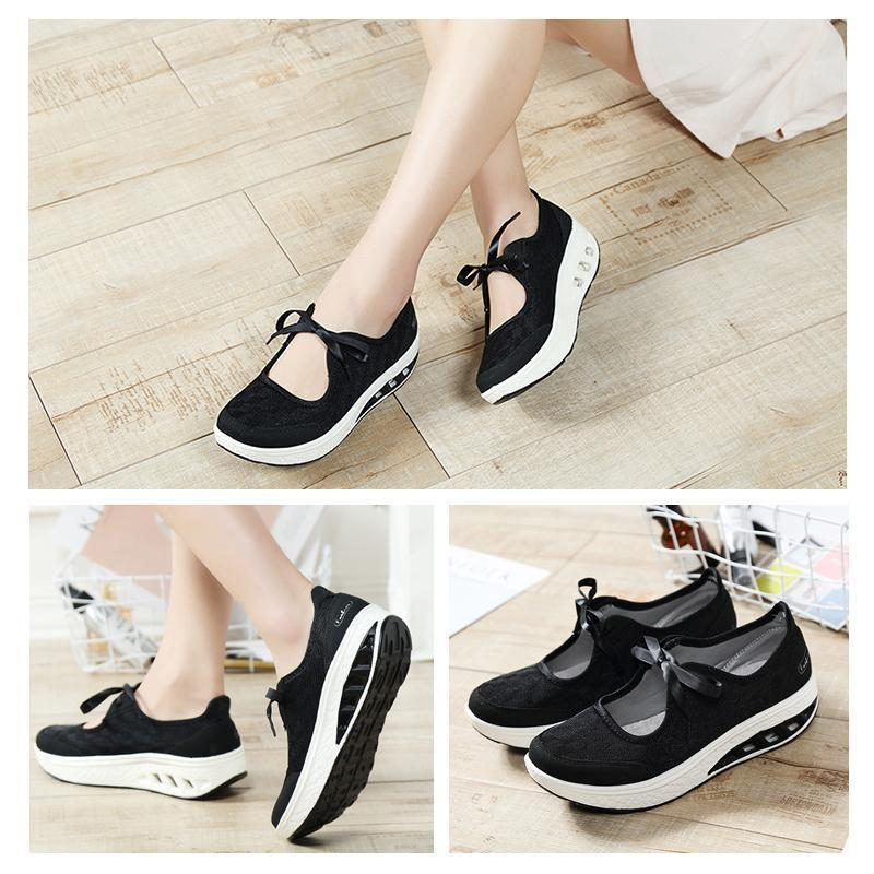 Women Spring Shoes Slip On Platform
