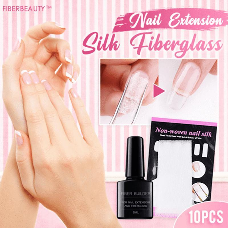 Nail Extension Silk Fiberglass (10PCS)