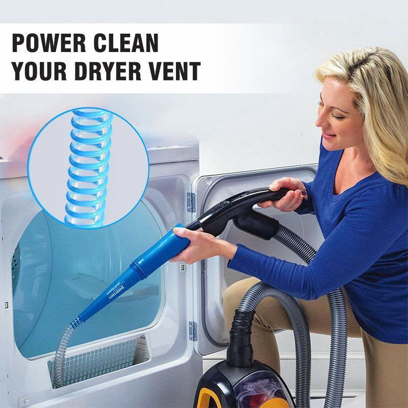 Dryer Vent Vacuum Hose Head Clean Dust Lint