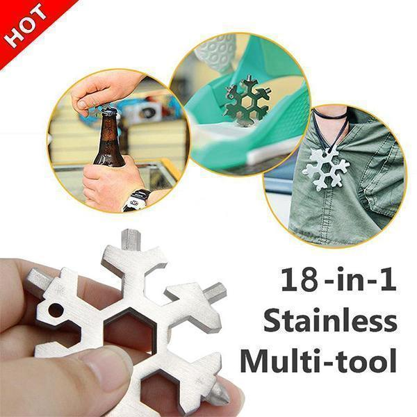 Amenitee® 18-in-1 Snowflake Multi-tool