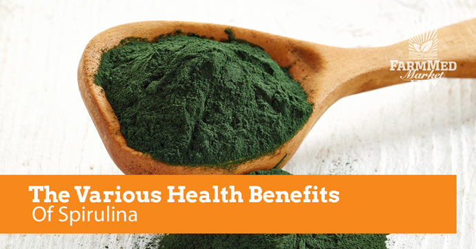 The Various Health Benefits Of Spirulina