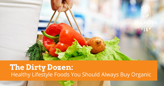 The Dirty Dozen: Healthy Lifestyle Foods You Should Always Buy Organic When Possible