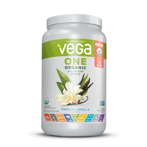 Vega One® Organic All-in-One Shake - French Vanilla Large (25.3oz)