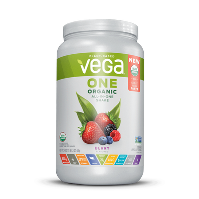 Vega One® Organic All-in-One Shake - Berry Large (24.3oz)
