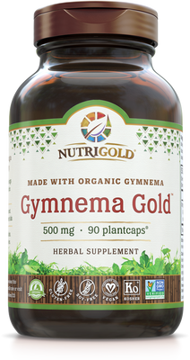 Gymnema Gold 500 mg (Organic) 90 Plantcaps®