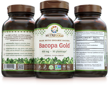 Bacopa Gold Gold 400 mg 90 Plantcaps®