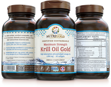 Krill Oil Gold Max (1000mg) - 60 Softgels