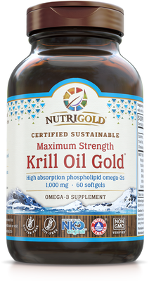 Krill Oil Gold Max - 60 Softgels