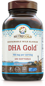 DHA Gold (700 mg DHA per serving) 120 Softgels