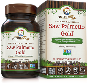 Saw Palmetto Gold - 320 mg (Clinically proven) 60 Vcaps