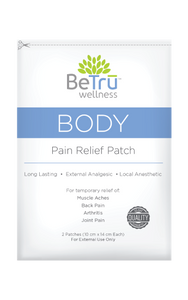 BODY Pain Relief Patch with Hemp Extract