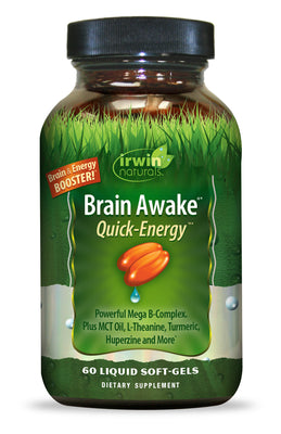Brain Awake® Quick-Energy™ 60 Liquid Soft-Gels