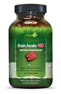 Brain Awake RED™ 60 Liquid Soft-Gels