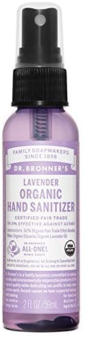 Dr. Bonner's Organic Hand Sanitizer, 2 FL OZ (Limit 2 per customer)