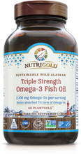 Triple Strength Omega-3 Fish Oil 60 Softgels