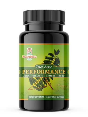 Performance * Libido * Strength * Stamina * Mood, 60 Veggie Capsules Dietary Supplement