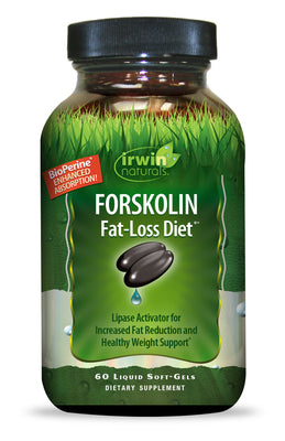 Forskolin Fat-Loss Diet™ 60 Liquid Soft-Gels