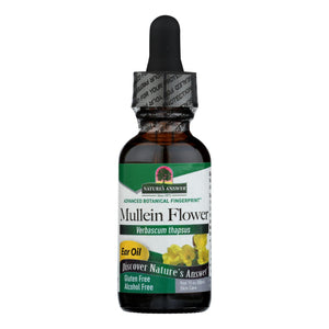 Nature's Answer - Mullein Flower Alcohol Free - 1 Fl Oz