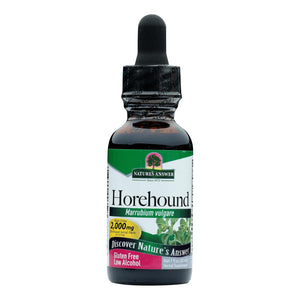 Nature's Answer - Horehound Aerial Parts - 1 Fl Oz