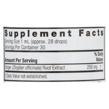 Nature's Answer - Ginger Root Extract - 1 Fl Oz