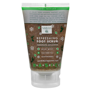 Earth Therapeutics Refreshing Foot Scrub Wild Mint - 4 Fl Oz