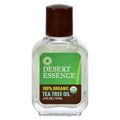 Desert Essence - Tea Tree Oil - 0.5 Fl Oz