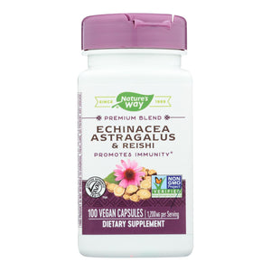 Nature's Way - Echinacea Astragalus And Reishi - 100 Capsules