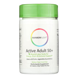 Rainbow Light Active Senior Multivitamin - 30 Tablets