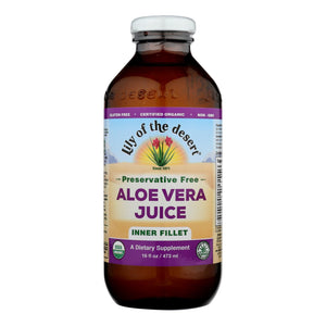 Lily Of The Desert - Organic Aloe Vera Juice Inner Fillet - 16 Fl Oz