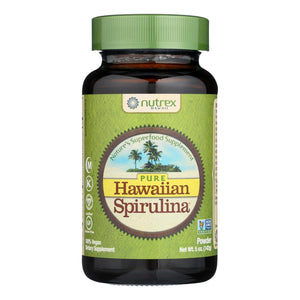 Nutrex Hawaii Pure Hawaiian Spirulina Pacifica Powder - 5 Oz