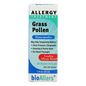 Bio-allers - Grass Pollen Treatment - 1 Fl Oz